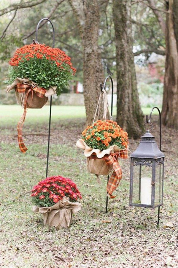 wedding aisle decoration ideas for fall