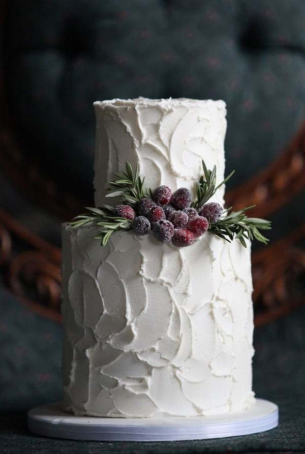 wedding cake ideas for fall and winter