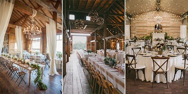 barn wedding reception ideas