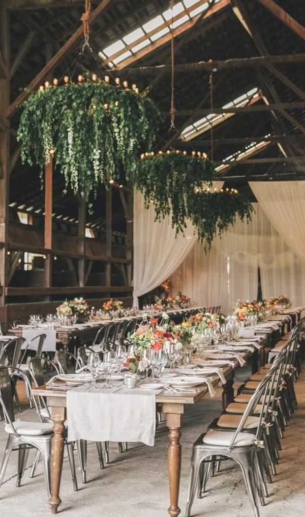 industrial barn wedding reception ideas