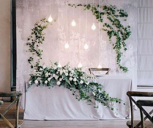 Wedding Head Table Flowers: 18 Amazing Wedding Head Table Backdrop Decoration Ideas