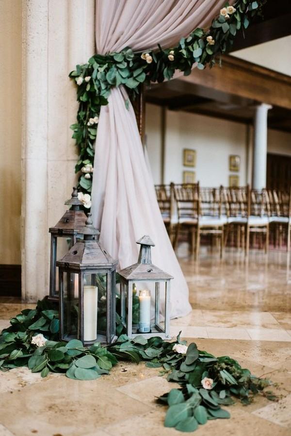 wedding decoration ideas with garlands 2