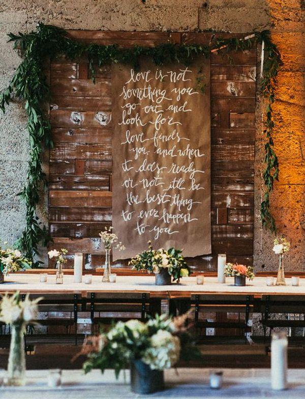 industrial themed wedding decoration ideas
