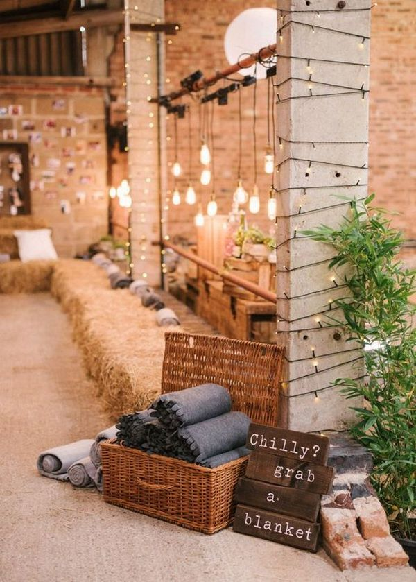 rustic industrial wedding decoration ideas