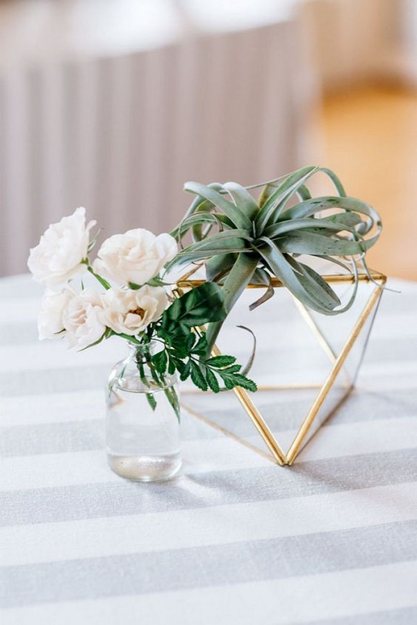 simple modern wedding centerpiece ideas