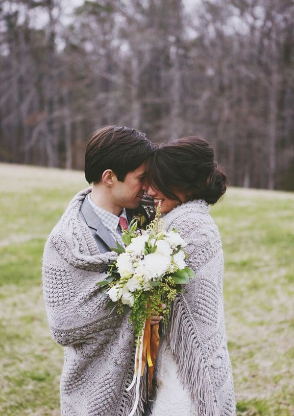 wedding photo ideas for fall and winter