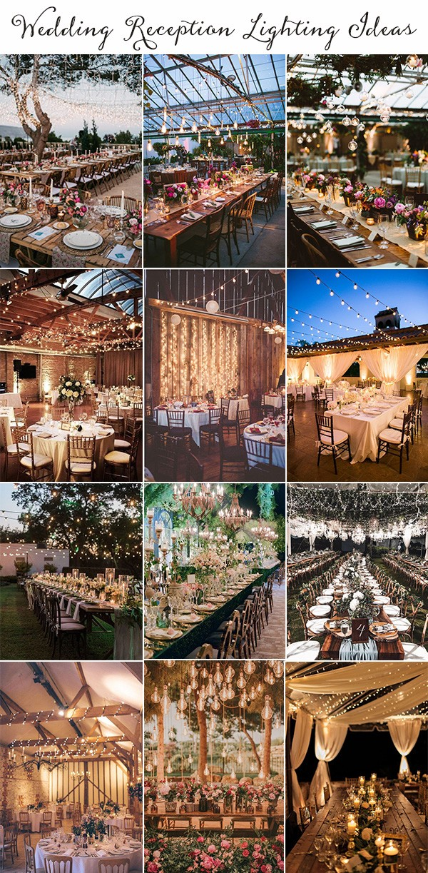 wedding reception lighting ideas for 2019 trends