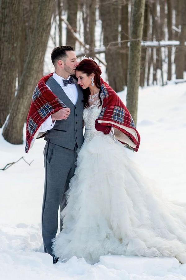 winter wedding photo ideas 2