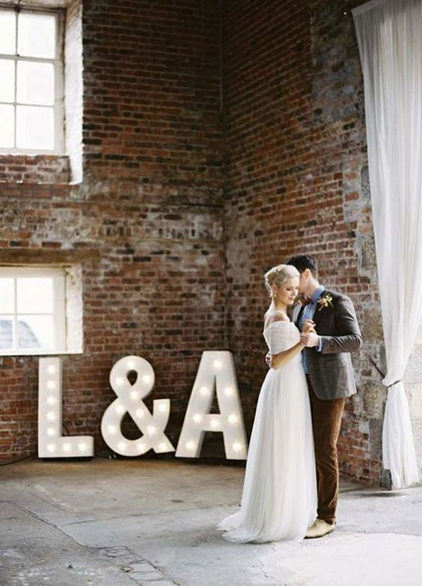 chic loft wedding ceremony ideas