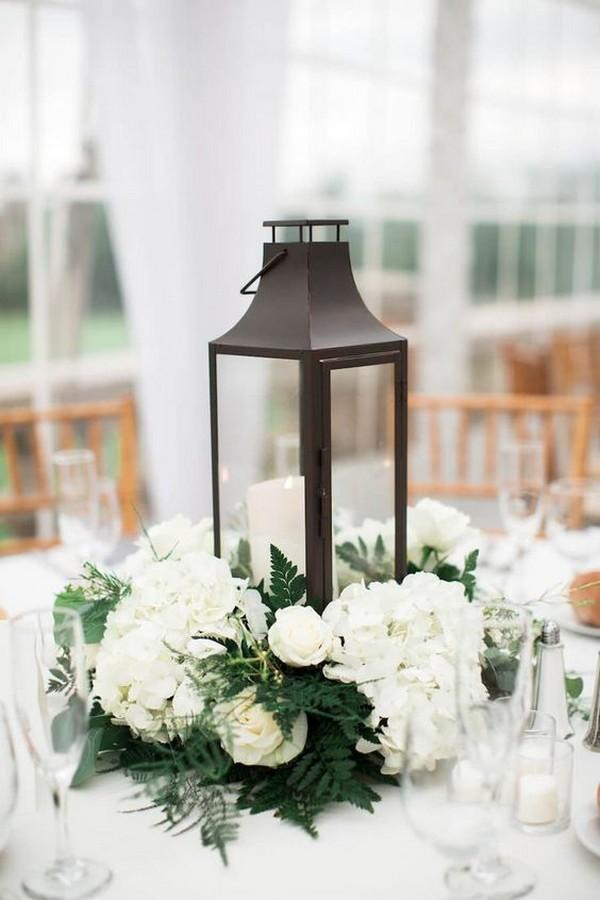 elegant lantern wedding centerpiece ideas