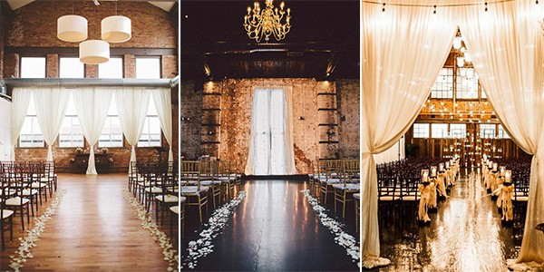 loft wedding ceremony ideas