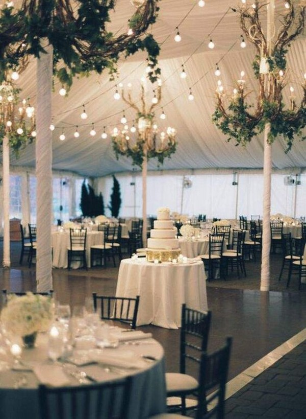 tented wedding reception ideas