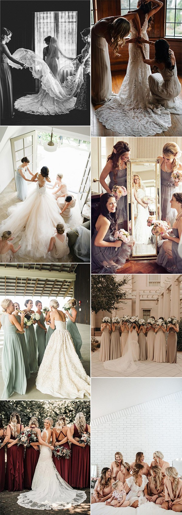 wedding photo ideas with your bridesmaids for 2019