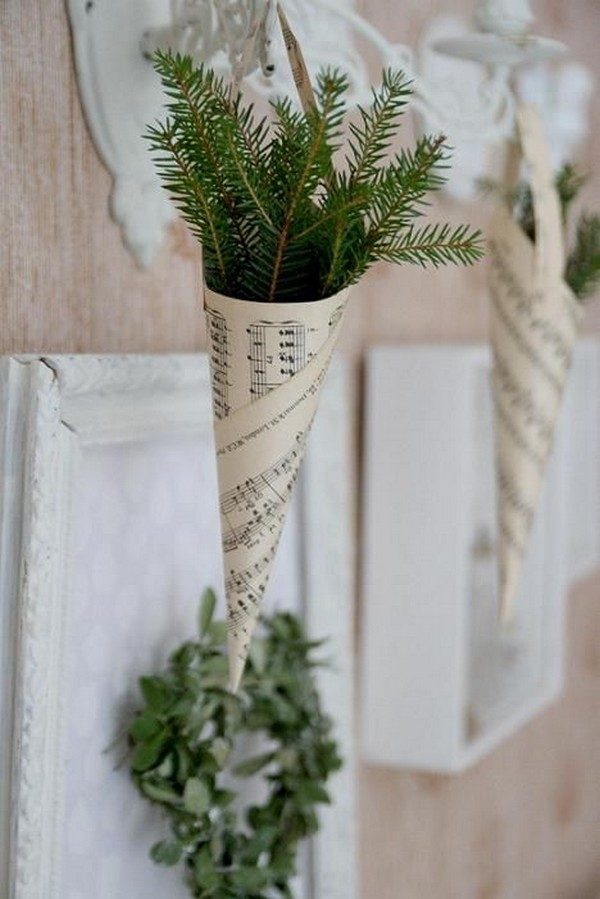 winter church wedding aisle decoraiton ideas