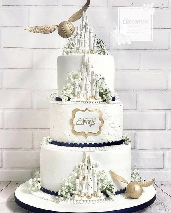 magical wedding cake ideas inspired by Harry Potter