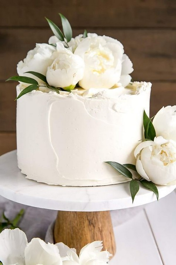 simple elegant wedding cake ideas for 2019