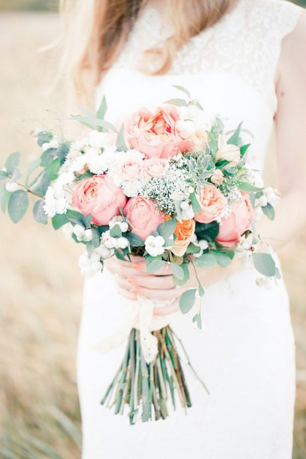 spring summer wedding bouquet ideas