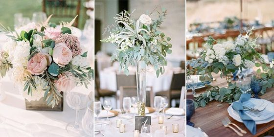 summer wedding centerpieces