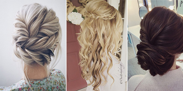 Top 15 Wedding Hairstyles For 2019 Brides Emmalovesweddings