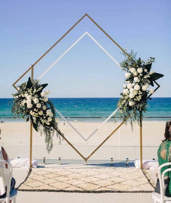 Songs For A Beach Wedding Ceremony: 20 Stunning Beach Wedding Ceremony Ideas-Backdrops, Arches