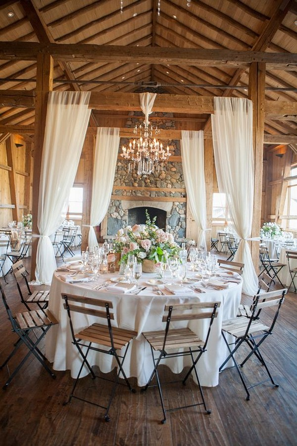 country barn wedding reception ideas