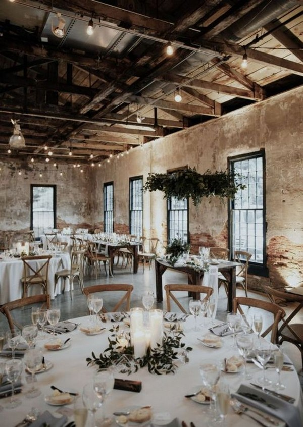 country rustic wedding reception ideas