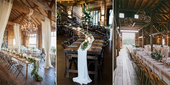 country wedding reception ideas