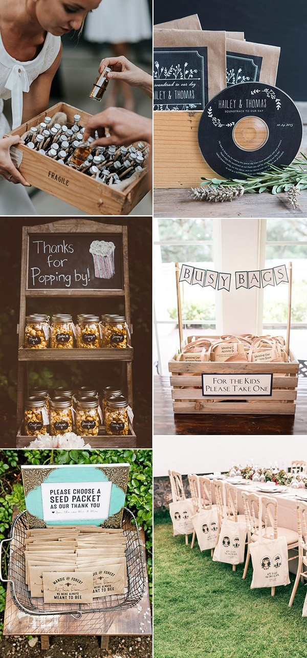 creative wedding favor ideas for 2019