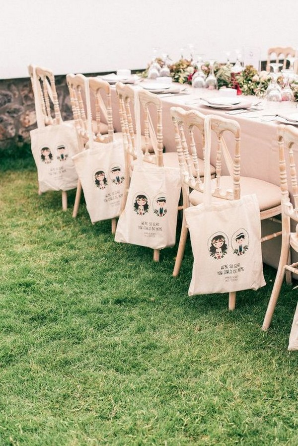 cute diy wedding favor bags