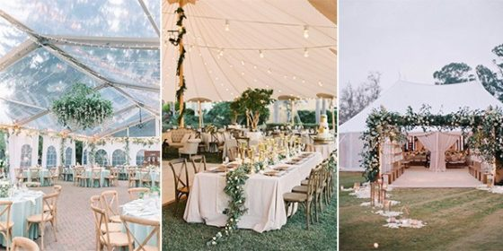 tented wedding ideas