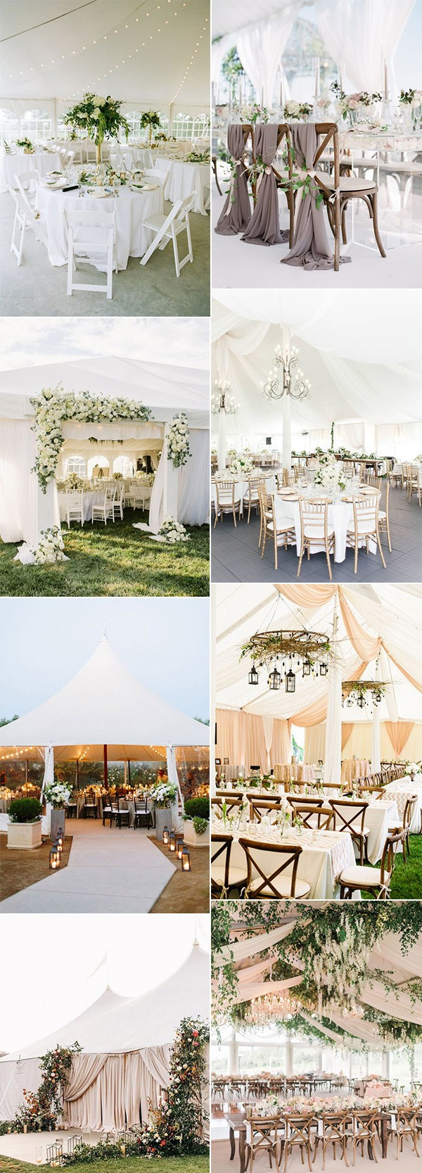tented wedding reception ideas for 2019 trends