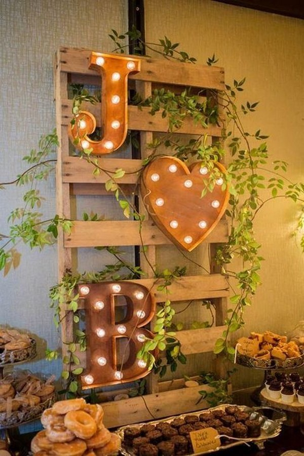 country rustic wedding decoration ideas