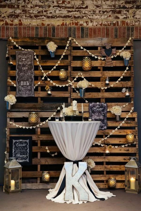 country wedding backdrop decoration ideas