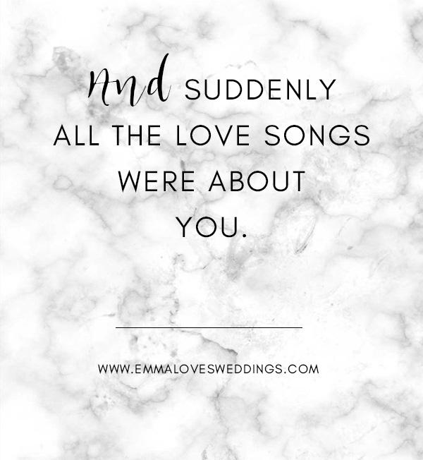 sweet wedding quote saying