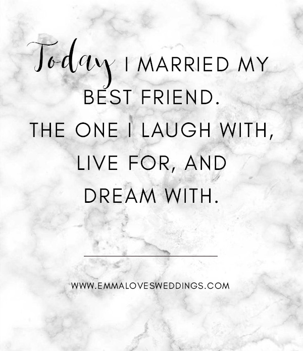 wedding day love quote and saying
