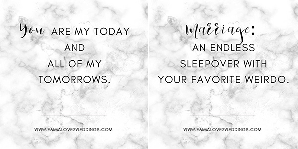 Short Wedding Quotes.15 Short And Sweet Wedding Quotes For Your Big Day Emmalovesweddings