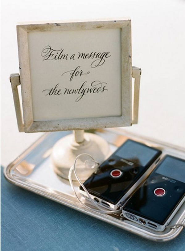 budget message wedding guest book ideas