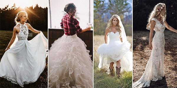 Fall Country Wedding Dresses 61 Off Pbpgi Org