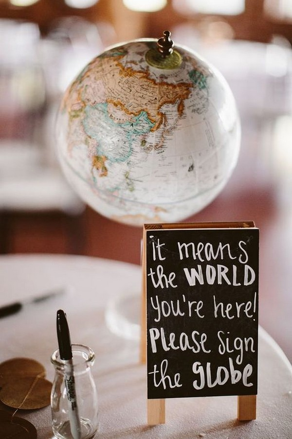 creative blobe wedding guest book alternatives
