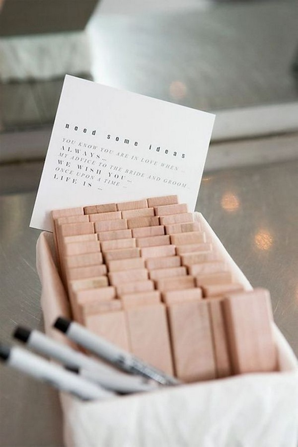 creative wedding guest book ideas advice