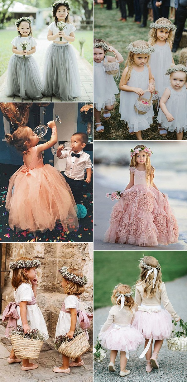 cute flower girl dresses for 2019