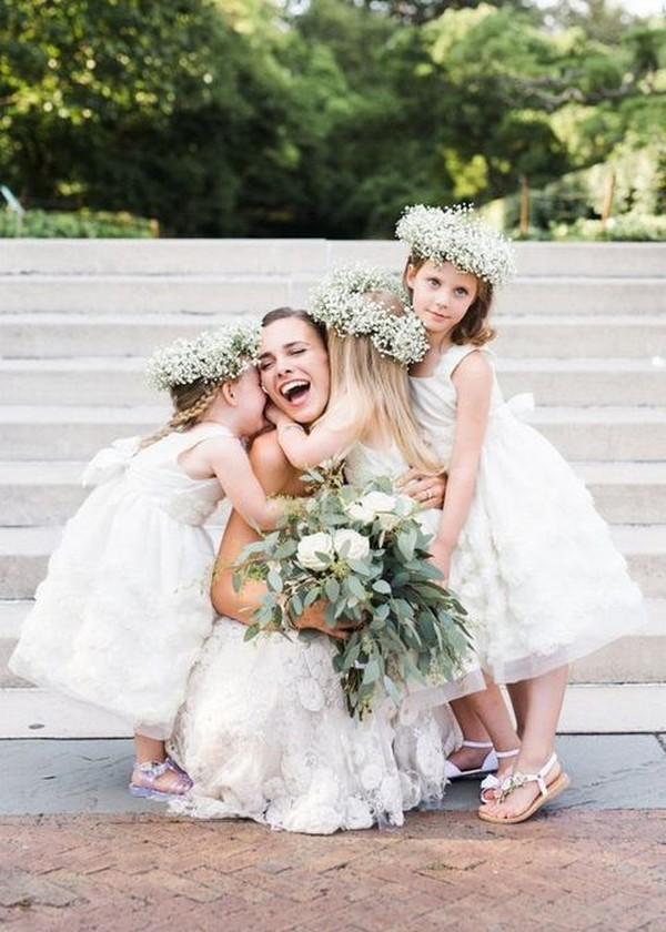cute princess flower girl dresses