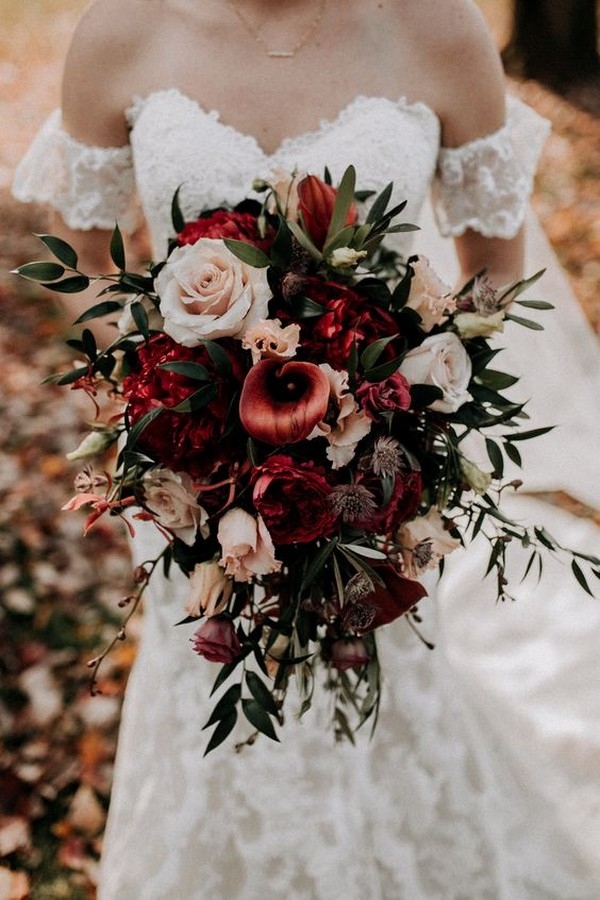 20 Stunning Fall Wedding Flowers And Bouquets For 2021
