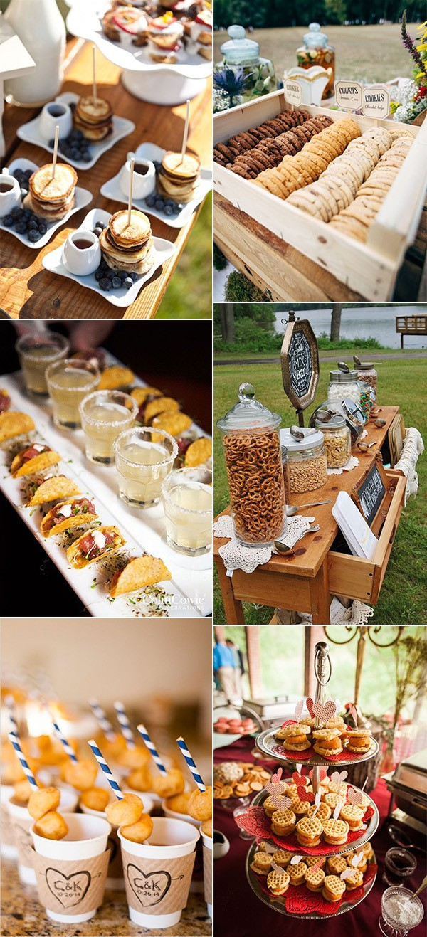 fall wedding food bar ideas for 2019 trends