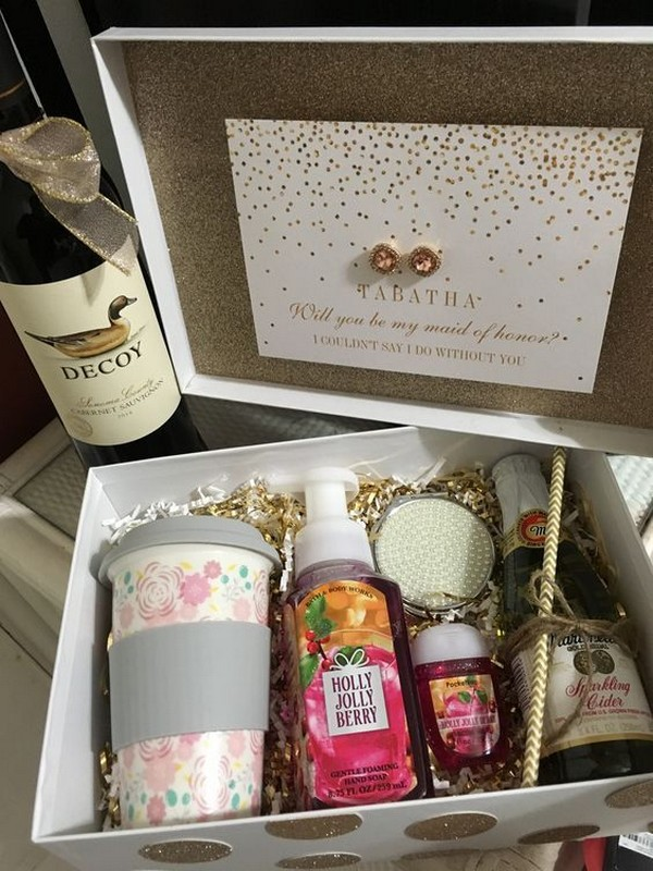 maid of honor proposal gift box 2