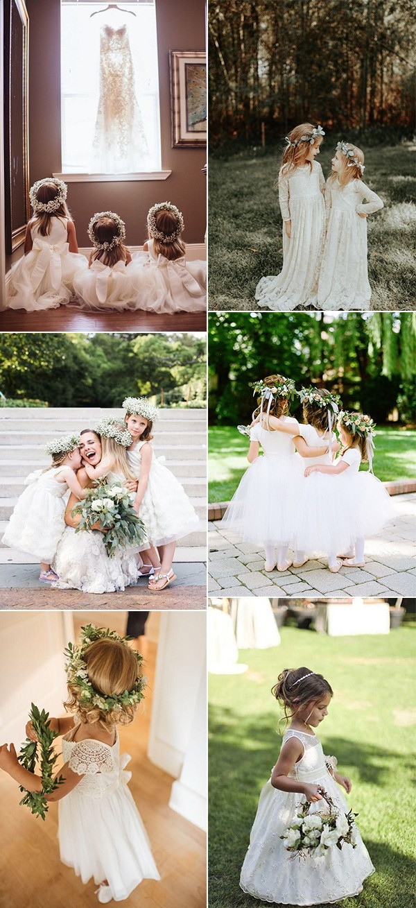 trending flower girl dresses for your wedding day