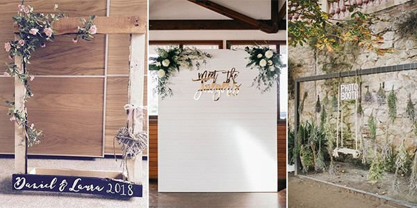 Ideas For Wedding Photo Booth: 18 Wedding Photo Booth Ideas To Have Fun