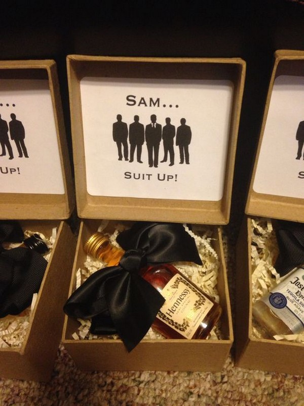 Will you be my groomsman gift box ideas