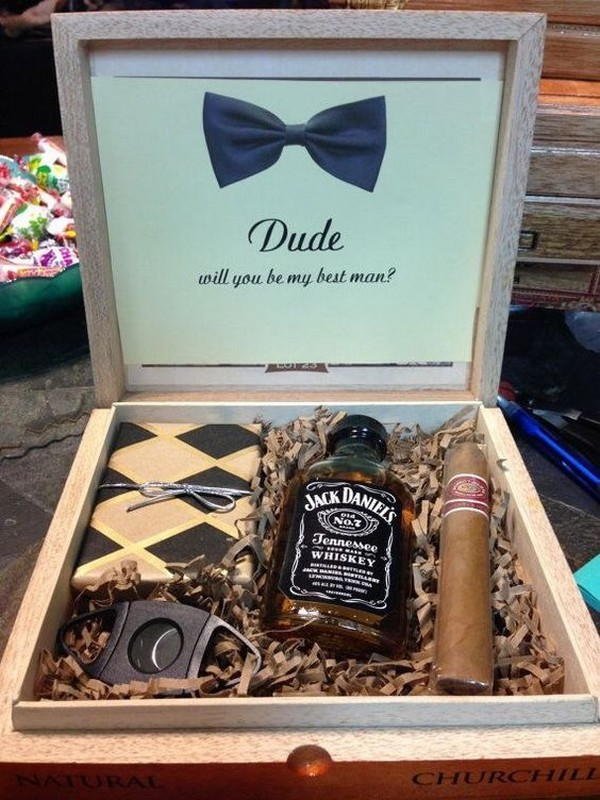 best man and groomsmen gift ideas