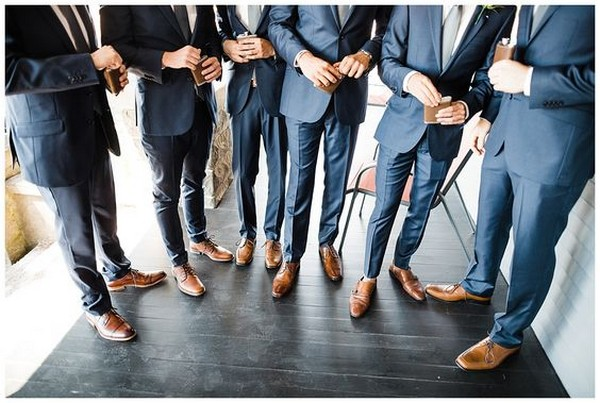 groomsmen getting ready photo ideas